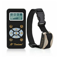 Pet /Dog Rechargeable Training Collar 800 Yard Electric Remote LCD 100LV E-Shock