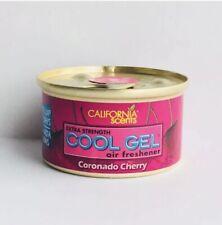 (6-Pack) California Scents Cool Gel Air Freshener Coronado Cherry 2.5 oz can