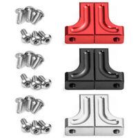 2Pcs Aluminum Servo Mount Parts For 1/10 Scale RC Axial SCX10 Crawler Car Accs