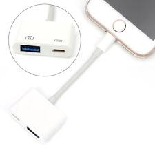 Apple Lightning to USB 3 Camera Keyboard Adapter Cable OTG iPhone iPad iOS11