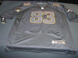 Nike Denver Broncos Wes Welker NFL Black Jersey Mens Size 52 ~ 8817