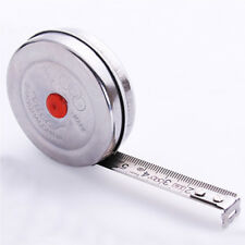 Stainless Steel 2m Hand Tools Retractable Tape Measurement Measure Metric