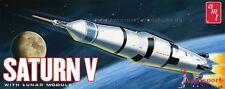 Saturno V 1:200 con módulo lunar Modelo Kit por AMT ~ 846/12