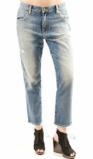 "Wildfox Women's Lola Baggy Boyfriend ""Hideout"" Denim Jeans Blue Size 32 BCF511"