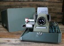 Vintage Argus 500 Model V Automatic Slide Projector w/ Case & Remote Works!
