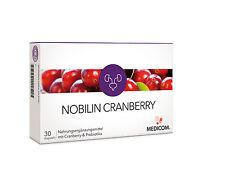 MEDICOM NOBILIN CRANBERRY 30 Kapseln mit Probiotika (0,66€/Kapsel)