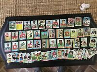 1974 1975 Topps Football Card lot 50 plus cards no psa cards Dallas Cowboys