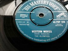 Western Movies, The Olympics, Soul,  On UK HMV Record's 1958.