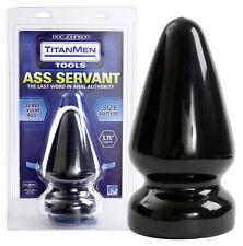 Fallo stimolatore anale rosso Doc Johnson Plug-Anal Titanmen Ass_Servant