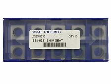 ISSN-633 Square Carbide Shim Seats for SNMD / SNMK Inserts (10pcs)