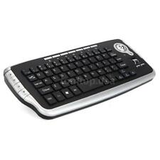 E30 2.4GHz Wireless Keyboard with Trackball Mouse Scroll Wheel Remote V7F8