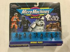 Vintage Galoob Micro Machines Star Wars Imperial Pilots! FREE shipping!
