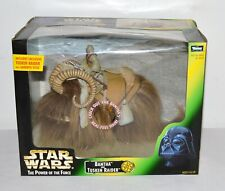 Star Wars POTF Bantha & Tusken Raider Action Figure Set Kenner 1998 Sealed