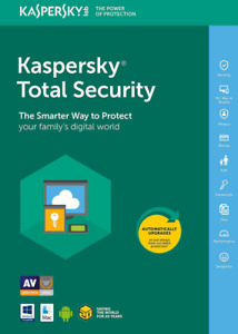 Kaspersky Total Security 2021 1 Year 1 Device Key Antivirus 2020 Windows Mac