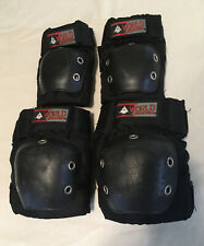 World Industries Knee & Elbow Pads Kids Youth Small Skateboard Roller Skate