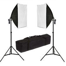 Studio di Fotografia 2x135W Scatola Morbida illuminazione continua Softbox Stativo KIT