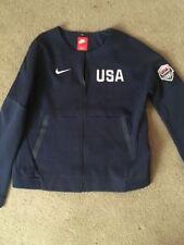 Women's Nike Tech Fleece Team USA Olympics Basketball Full Zip Jacket Sz Large