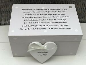 Personalised Memory Box Loved One ~ MUM ~ Or Any Name ~ Bereavement Loss