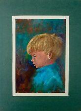 "Vintage J. ELLEN WILHELM ""Butch"" Oil Painting"