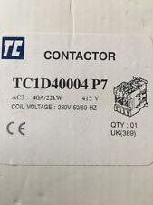 TC Contactor TC1D40004 P7