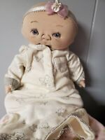 One of a Kind Artist Doll by Jan Shackelford, 2006 Baby Small Small Violet