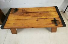Vintage WWII Liberty Ship Hatch Door Coffee Table