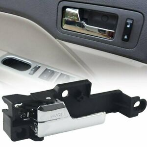 Door Handle Inside Interior Chrome Rear Driver Left for Ford Mercury Lincoln