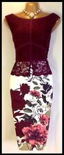 "NEW GORGEOUS PHASE EIGHT SIZE 14 ""HANSEL ROSE"" DRESS RRP £130.00 NEW WITH TAG"