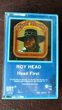 "ROY HEAD ""HEAD FIRST"" RARE BLUE CASSETTE ROCKABILLY ~ EUC ~ FREE SHIPPING"