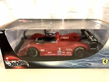 Hotwheels Ferrari 333sp Scandia CUSTOM 1/18 Mattel RARE F333 SP 333 Royal Purple