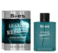 Bi es Le Male Rebelle Perfume for Men EDT Spray 100 ml New  DESIGNER INSPIRED