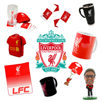 LIVERPOOL FC OFFICIALLY LICENSED COLLECTIBLES & APPAREL CHOOSE FROM 20+ ITEMS