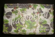 New Asquith & Somerset Made in Portugal 10.58 oz Bath Bar Soap Blackberry