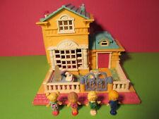 Polly Pocket Mini ♥ Luxus Hotel ♥ Light Up Hotel ♥ 4 Pollys ♥ 1994 ♥ LICHT