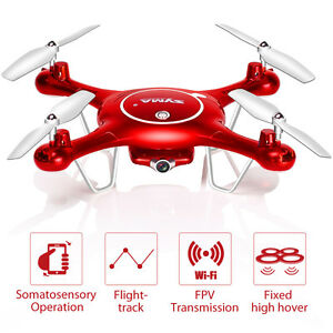 Syma Drone Quadcopter with WiFi HD Camera 720P Real-time Transmission