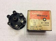 NOS 1953-54-55-56-57-58-59-60-61-62 CHEVROLET 6 CYLINDER DELCO DISTRIBUTOR CAP