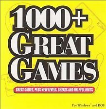 1000+ Great Games  (PC, 1997) CD-ROM GAME
