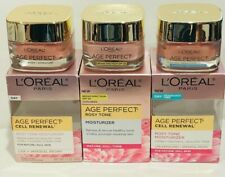LOREAL AGE PERFECT MOISTURIZER MATURE, DULL SKIN CHOOSE 1