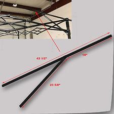 Quik Shade Summit Series 10x10 PEAK TRUSS Bar W/Support Replacement Parts Black