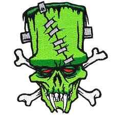 Kreepsville 666 Frankenstein Iron On Patch Punk Rockabilly Gothic Horror