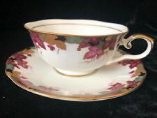 HOYA Bone China Tea Cup and Saucer - Made in Japan