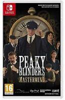 PEAKY BLINDERS MASTERMIND NINTENDO SWITCH GAME