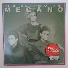 Mecano – Lo Ultimo De Mecano Label: CBS – CBS 450193-1 Format: Vinyl, LP, Comp