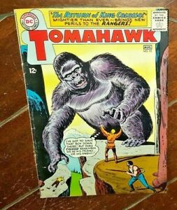Tomahawk #93, (1964, DC): The Return of King Colosso!