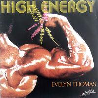 "Evelyn Thomas 7"" High Energy - France (EX/EX)"