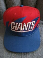 NY GIANTS Red, White & Blue Adjustable Cap NFL Vtg Mitchell & Ness Embroidered