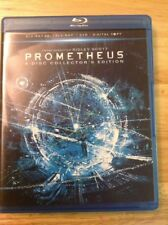 Prometheus 3D(Blu-ray/DVD,2012,4--Disc,Collectors Edition)Authentic US RELEASE