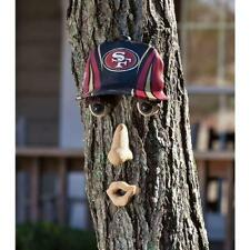 All Weather Resin 14 in. x 7 in. Forest Face San Francisco 49ers Wall Decor