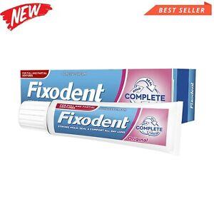 Denture Adhesive Fixodent Cream Plus Strong Hold Best Premium 70g FREE post