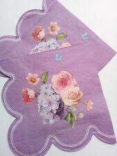 4 x flower paper napkin party supplies tissue decor,flowers art design, art, cre